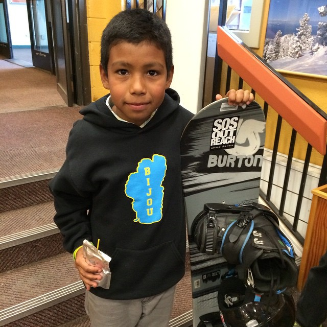 SOS youth in Tahoe got their gear last night for what will be an awesome season at @skiheavenly and @skinorthstar !! Thank you for getting rad gear to our youth!