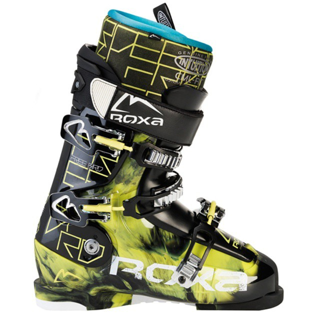 The Freebird 8 in yellow and black. Or is that black and yellow? Whatever it is this boot is a step up in the park. Stock intuition wrap liner and 3 piece design make it unbeatable. #worldatyourfeet