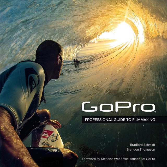 A huge shout out to our Creative Director of Media @brdfrd and Senior Editor @catadromous on the publication of their awesome new book, GoPro: Professional Guide to Filmmaking.  It's 300 pages filled with hundreds of jaw-dropping photos and stories...