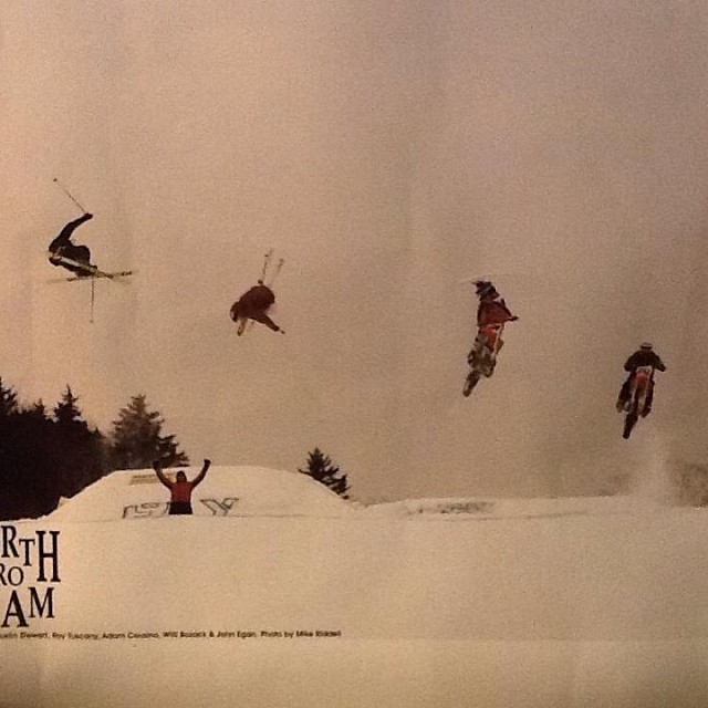 #TBT with @vtnorthskishop and @vtnorthproteam | Austin Stewart, Roy Tuscany, Willie Bozack and Adam Cusino