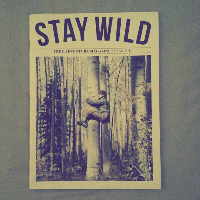 We have @staywildmagazine at #AkelaSurf Boutique :)