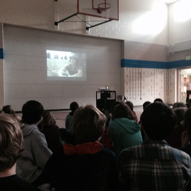 Fayston Elementary knows that #helmetsarecool | presenting to schools in Vermont all week
