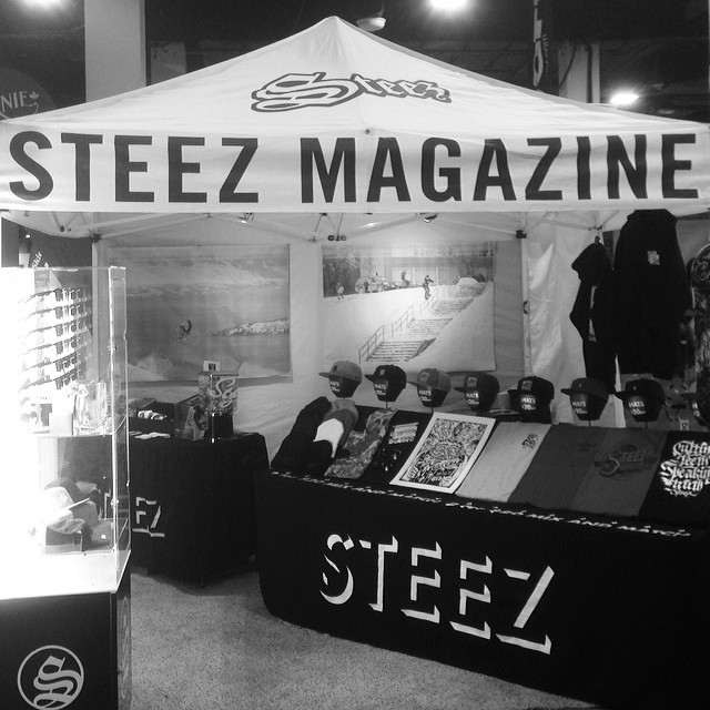 Find us at the boston snow expo all weekend. Near the entrance. Lots of free stuff and deals. #bostonexpo #steezmagazine