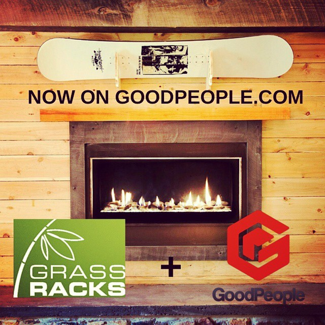 The rumors are true and they're great rumors.. #Grassracks and @goodpeoplelife have tied the knot. Well.. we're not married or merging companies BUT you can now purchase our products on GoodPeople.com. It's an awesome site with an awesome concept made...