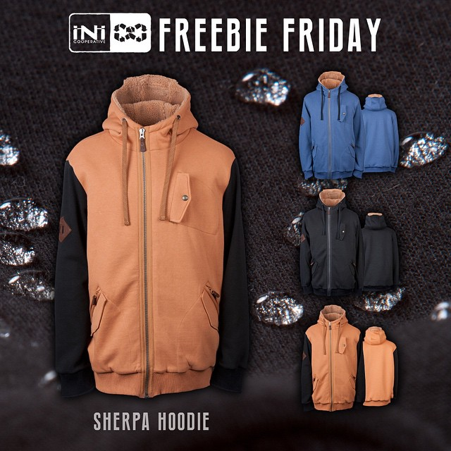 #FreebieFriday | welcoming everyone, for a chance to win our #SherpaFleece Hoodie . DWR Coated - Water Repellant Fleece, that's not only good for cold weather... But also for the snow or rain. Tag 3 people and tell us what you have planned for the...