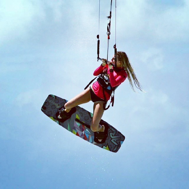 Paulita is #WOW #kitesurfing