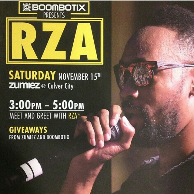 Come celebrate ODB's birthday tomorrow at #zumiez where RZA will be signing all your #wutang gear