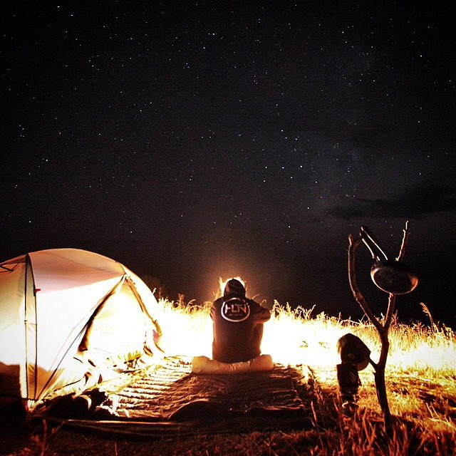 @maxturnr finds some tranquility on a clear night #gorumpl