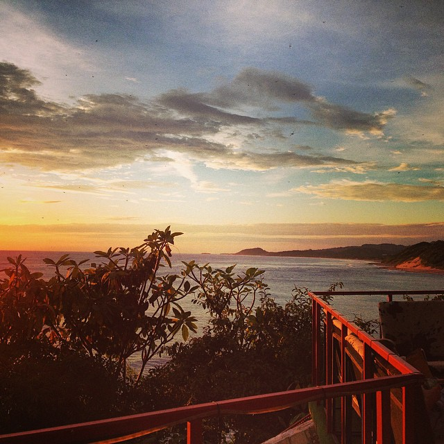 Next time you're in #nicaragua make sure you head to @magnificrock for the best sunset of your life.  Now selling #kindafancy suits too! #bikinisandbeers #welikethosethings #surf