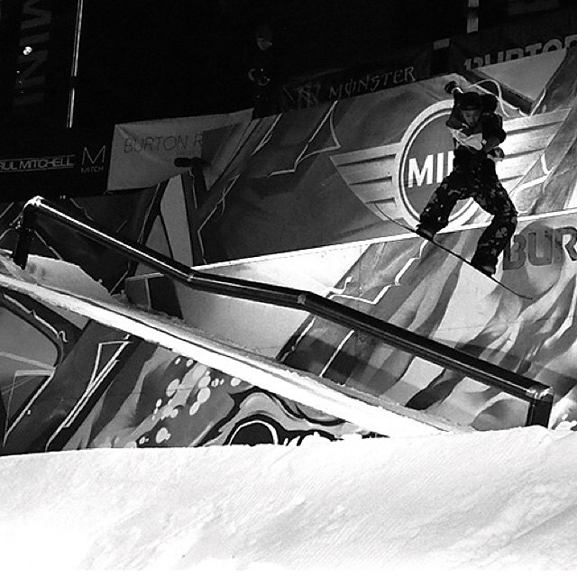 #regram from @hanaphoto Congratulations to Flux rider, Yuma Abe @yumaabe for taking 3rd Place in the Burton Rail Days event in Tokyo Japan. ❄️
