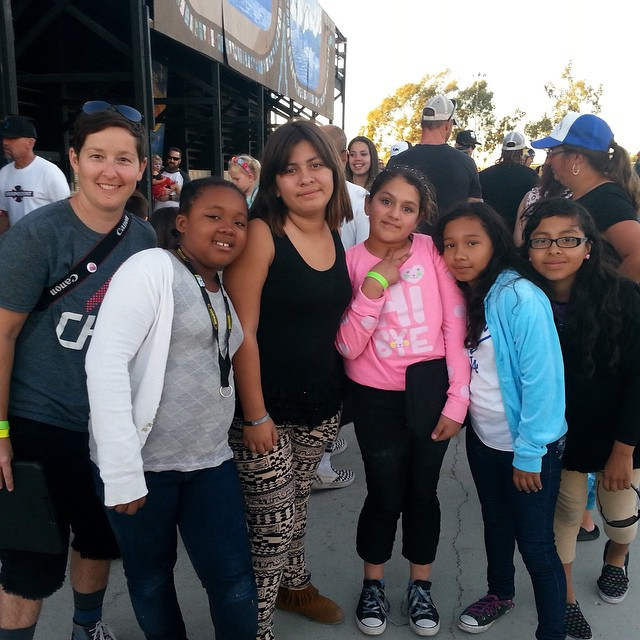 Thank you @chill_la and @chillfoundation for being part of #EXPOSURE2014! Here we have Chill LA manager Jen Marony with students from 93rd Street Elementary in South Los Angeles. We heard it through the skatevine that after taking part in the...