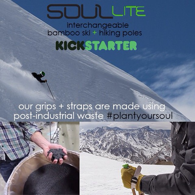 The #SoulLiteProject grips and straps are made from 100% post-industrial waste // #zerowaste #ReduceReuseRecycle | check out the @kickstarter campaign by visiting the link in our bio