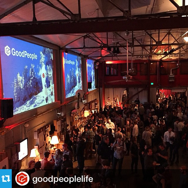 I'm still blown away by the amazing turnout at #OutdoorSF this week. It was amazing to see the @goodpeoplelife community come to life in the real world. -  Part of our mission with Outdoor San Francisco is to bring great new brands, outdoorsy people,...