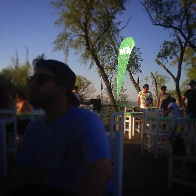 Bajada #kitesurf @thegreenparrotco #bsas #finally DJ