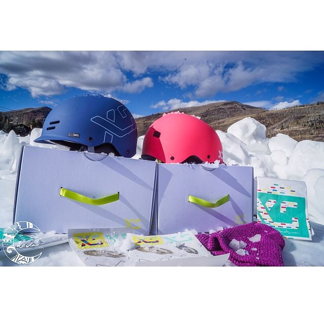 Winter is here!! XS Freeride helmets and beanies will keep you toasty warm!