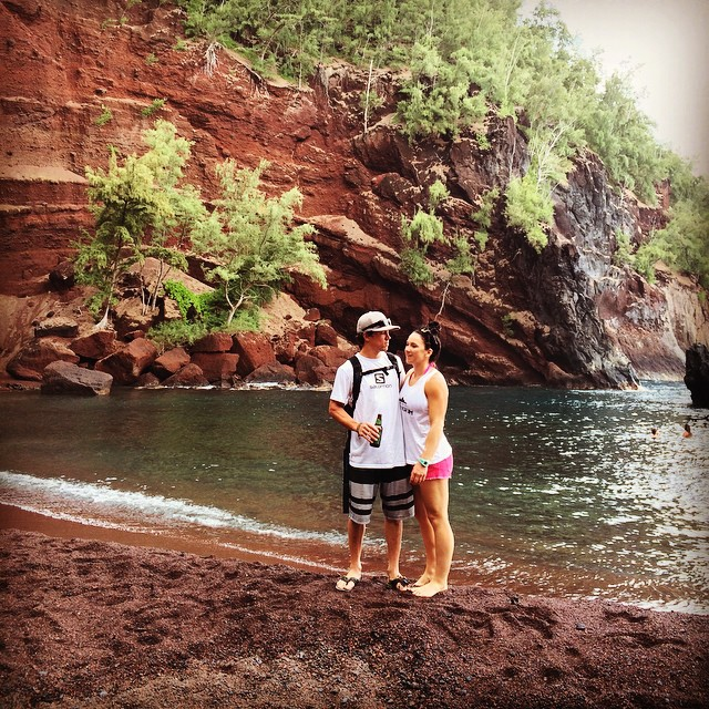 Remembering an amazing day at the #redsandbeach in #Hana Maui. The snorkeling was crystal clear, can't wait to come back and huck some of the cliffs. #hippyhangout #snorkelingmaui #hiking @dakine @joshdaiek #oakley @stcrossfit #epicbar #epicteam