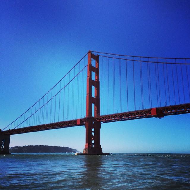 Getting my tourist on! Be back next weekend, it's been fun! #goldengatebridge SF #hangover #dolphins #lifeisgood #@kirkwoodmtn #kirkwooddeep #epiclife #paradise #citylife #goodpeople