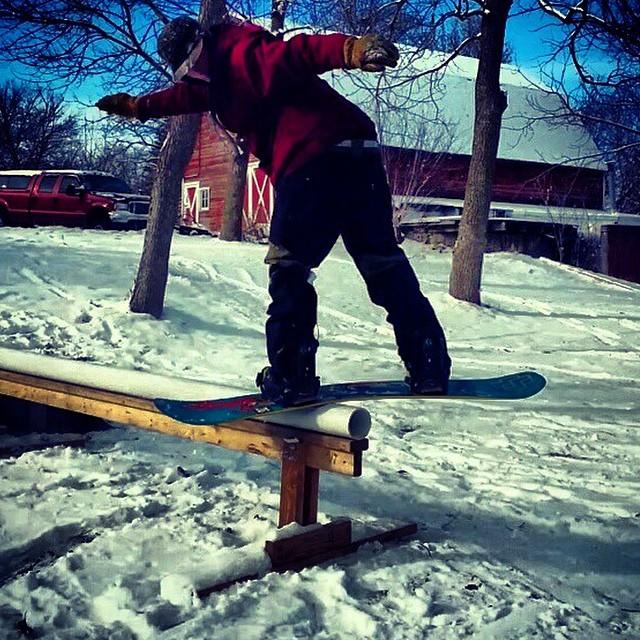 Team rider from #Minnesnowta @jgrahamproductions❄️#FrostyHeadwear #Snowboarding