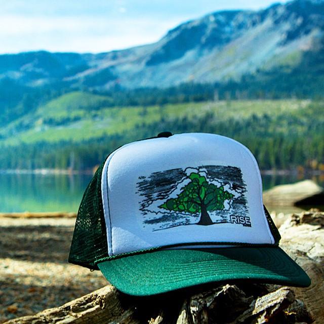 Conscious Tree Trucker Hat #risedesigns #truckerhat #tahoe www.risegraphics.com