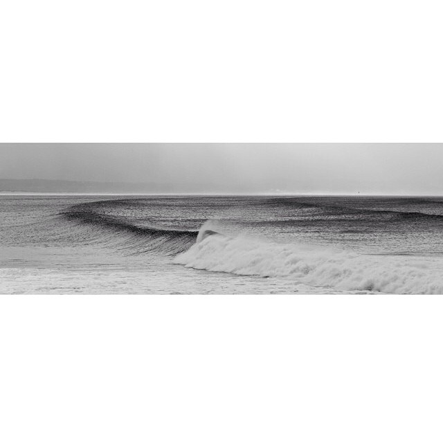 This picture taken at J-Bay from @woodrowmedia is incredible! #Surf #SurfPics #SurfPorn #JBay #BlackandWhite #NobodyOut