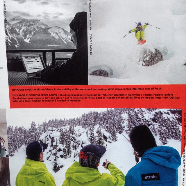 "Check out Panda co-founder Oakley White-Allen and fellow Panda Tribe member Whit Boucher in ""Turbo Pow"", a featured article in this month's Freeskier Magazine--out on newsstands now!  Whoever can correctly identify the total number of Panda shots in..."