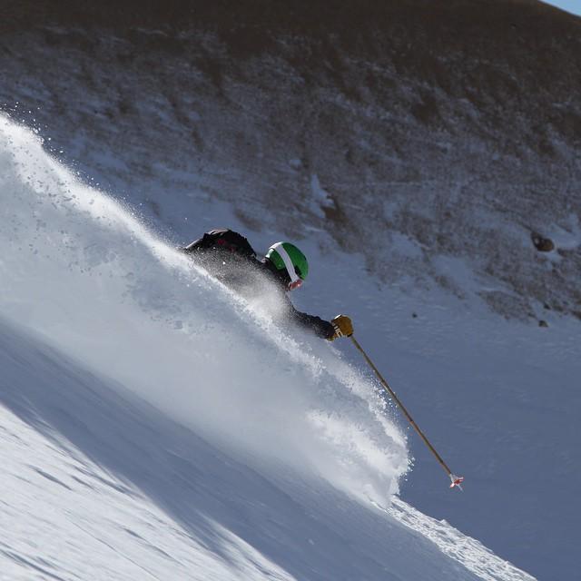 Finding a pocket of deposition in Las Leñas // Skier: @bryonfriedman PC: @reggiecrist | @tecnicablizzard -> #plantyoursoul