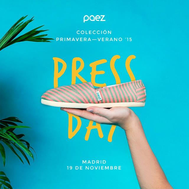Se viene el Press Day Madrid! #Paezshoes #Weshare #fashion