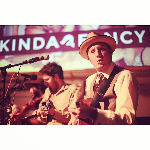 Rad photo by @claytonsupdates at #outdoorsf last week!  Thanks @goodpeoplelife for such an awesome event.  #bluegrass #sanfrancisco #california #regram
