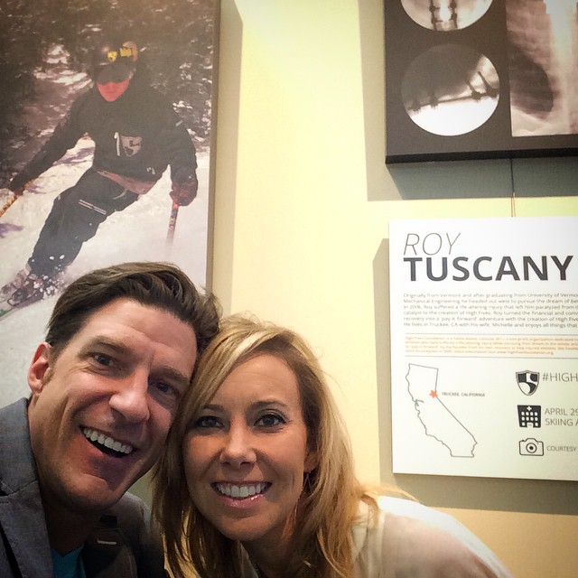 #depARTures gallery at the #RNO airport w/ @RoyTuscany and other @hi5sfoundation personal heroes on the walls!  Next stop #VEGAS for the #DEMA2014 international #DiveSports convention to keynote w/ @shawnakorgan & attend the Vegas premier of...