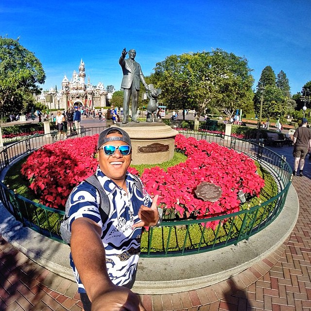 Where Dreams Come True #Disneyland #Kameleonz #GoPro #GoProOfTheDay #BlueSteel #GoPole #LifesABeach #ThisIsMyBeach #Travel pic by @kekoopono