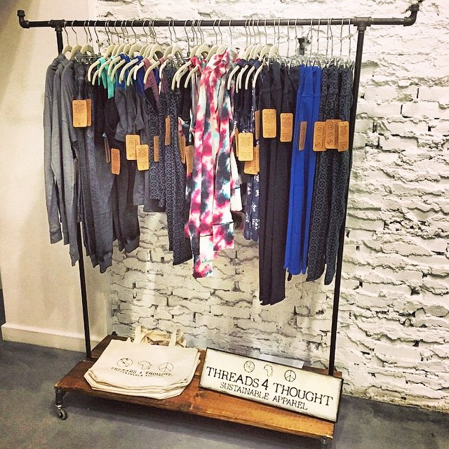 Pop-up shop at Hamilton Health & Fitness feat. Out #sustainable #activewear.