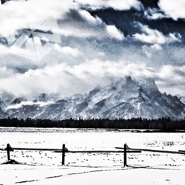 The gateways are hidden up there somewhere. They will appear for you, if you know how to look. #avalon7 #jacksonhole #tetons www.avalon7.co