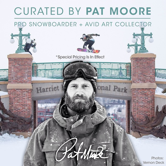 In Pat We Trust! @patmoore  http://asymbol.co/collections/curated-by-pat-moore @asymbol #asymbolart #guestcurator