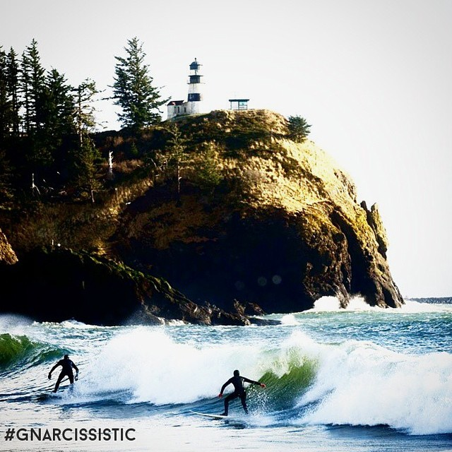 When your sport and passion take you on an adventure.  #GNARCISSISTIC #gnarbox #surfsomething  PC: @blairlsnyder Place: Cape D Break, Washington