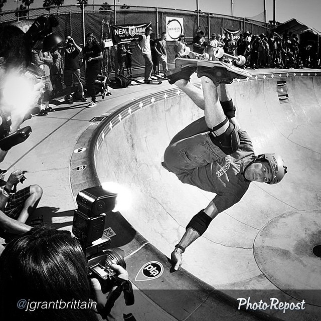 "#Stoked and honored to have both the shooter and subject at #EXPOSURE2014. @andymac720, FS invert by @jgrantbrittain. --- by @jgrantbrittain ""Demos/contests are usually too packed with photographers to get a good spot on the edge, so I just deal with..."