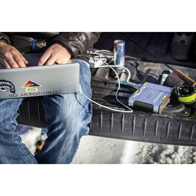 Some call it a mobile office. Some call it a truck. We call it power. #GetOutStayOut