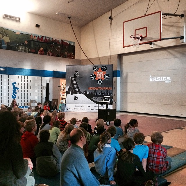 #knowyourpark | Fayston School - Educating Vermont on terrain park safety @pocsports & @sugarbush_vt & @vtnorthskishop