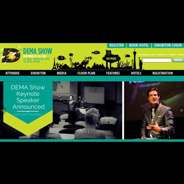 #VivaLasVegas!!! #DEMA2014 is on w/ keynote presentations happening this morning - including a very special presentation from the always stunning @shawnakorgan!!! | @apbspeakers | #ChoosePositivityNow.com
