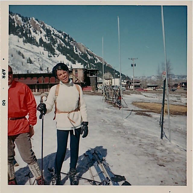 #tbt to Flylow's @meganmichelson's mom back in 1966. #awesome