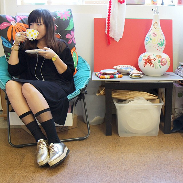 """""""We, artists, have extreme powers. We are educative forces that push our society forward."""" We visit the studio of illustrator Ayumi Takahashi (@r_you_me) and learn how artists can make a difference in our latest Faces feature, now live on..."""