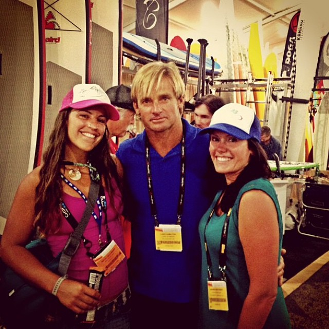#throwback to the first time I met laird. Ahhh...the good 'ole days. @lairdhamiltonsurf #orshow #tbt