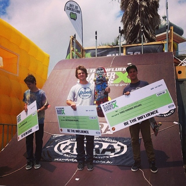 Yeeeah buddy! Fired up for team rider @brandontissen taking his 3rd victory in the #betheinfluence Border Cross series in Australia! Enjoy the rest of your vacation!  #calibertrucks #usainaus