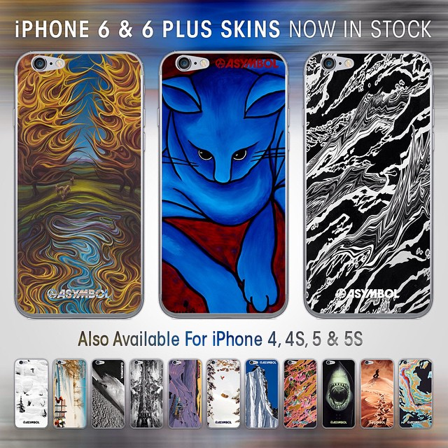 Make your pocket computer into art! New iPhone skins in all the sizes (4-6plus) at http://asymbol.co/collections/iphone-skins #christmascomesearly #asymbolart #iphoneskin #gimmesomeskin