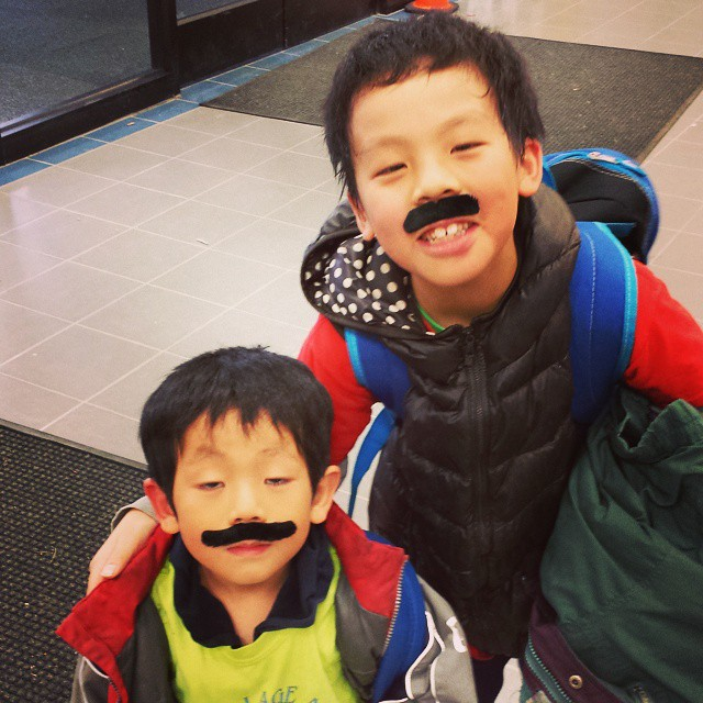 It's #movember people! #kids #skatestart