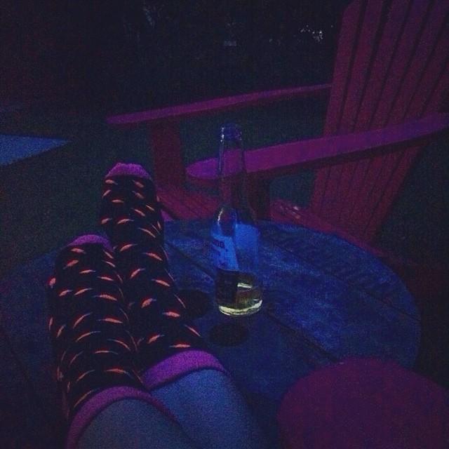 """Relajando el jueves con unas Lorca que son casi """"glow in the dark"""" #loveyourfeet #socks #jueves #lorca"""