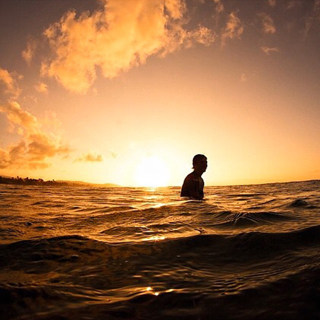 #LifesABeach | Majestic sunsets with @chadkoga #Kameleonz #ThisIsMyBeach #Surfing #Travel #Traveling #GoPro #GoProOfTheDay