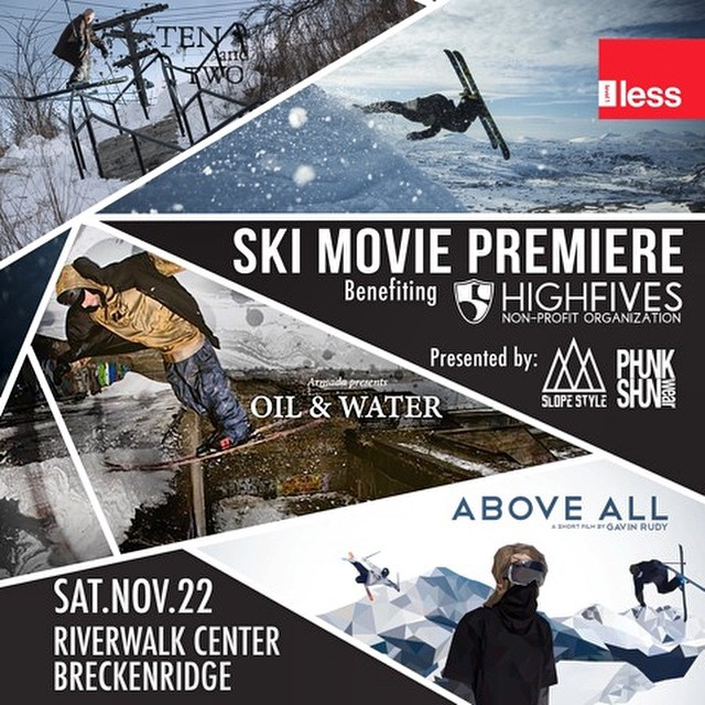 @slopestyle_ski & @phunkshunwear have teamed up to create a movie premiere to end all movie premieres | 4 Films | Sat Nov 22 |