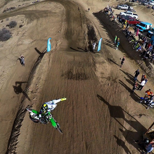 Sky high view of @jeremymcgrath2.  #SEEHAPPY  Photo: @chriscleary