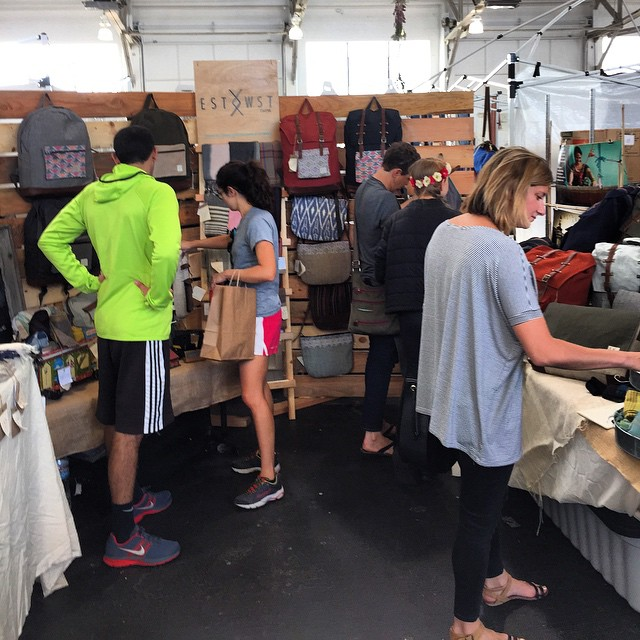 Great first day at #renegadesf stoked to be out here sharing our story amongst so many talented artisans. #estwst #sustainablefashion #ethicalfashion