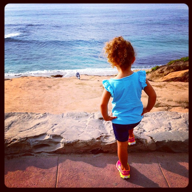 The littlest Bodhi Team member, Maya Paz, is enjoying her vacation in San Diego and getting her ocean fix!